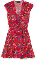 Saloni Katie Floral-print Silk Dress