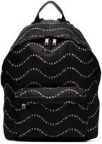 Givenchy wave logo-printed backpack