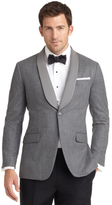 Brooks Brothers Milano Fit One-Button Shawl Collar Dinner Jacket