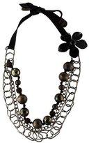 Marni Multistrand Sphere & Chain Necklace