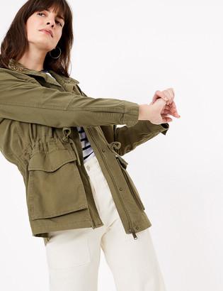 Marks and Spencer High Neck Utility Jacket