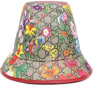 Gucci GG Flora cotton-blend bucket hat