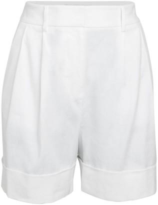 Diane von Furstenberg Shiana Linen-Blend Shorts
