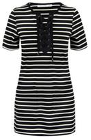 Bishop + Young Lace Up Dress