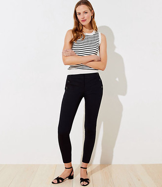 LOFT Sailor Skinny Ankle Pants