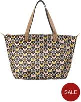Orla Kiely Zip Shopper Bag