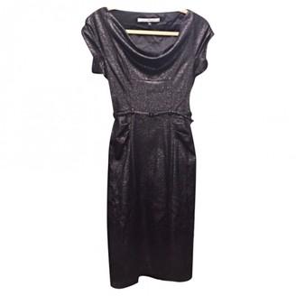 Diane von Furstenberg Metallic Viscose Dresses