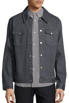 A.P.C. Blouson John Gris Denim Jacket