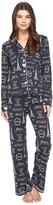 PJ Salvage City of Love Paris PJ Set Women's Pajama Sets
