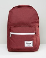 Herschel Supply Co Pop Quiz Backpack In Burgundy