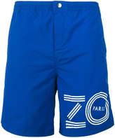 Kenzo logo print swim shorts