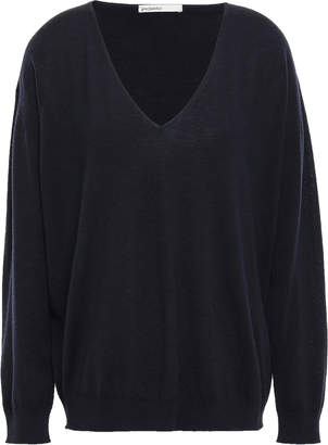 Melange Home Gentryportofino Wool, Silk And Cashmere-blend Sweater