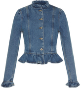 J.W.Anderson Ruffle Denim Jacket