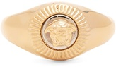 Versace Medusa signet ring
