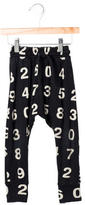 Nununu Boys' Number Print Jogger Pants
