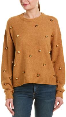Alice + Olivia Gleeson Wool-Blend Pullover