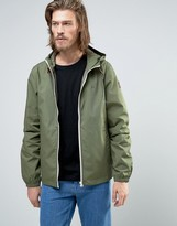 Element Alder Hooded Jacket In Green