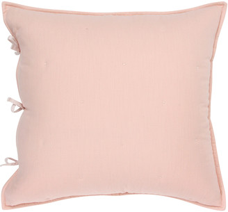 Wallace Cotton - Matapouri Reversible Large Square Pillowcase - Peacock - Pink/Blue