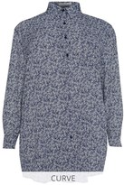 Glamorous Curve Over Sized Print Shirt