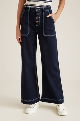 Seed Heritage Straight Patch Pocket Jean