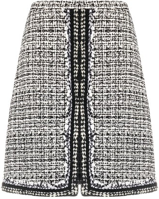 Giambattista Valli Tweed A-Line Skirt