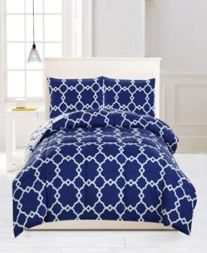 Kensie Greyson Reversible 3-Pc. King Comforter Set Bedding