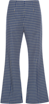 Marni Checkered Flared Trousers