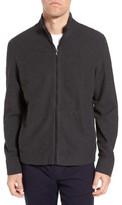 James Perse Men's Zip-Up Heathered Knit Jacket