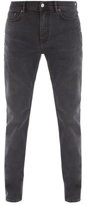 Acne Studios North Cotton-blend Slim-leg Jeans - Black