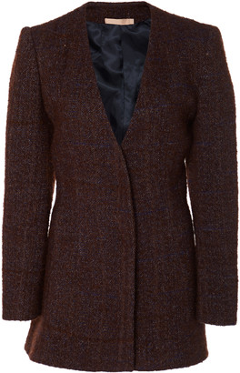 Brock Collection Prince Fitted Single-Breasted Boucle Jacket