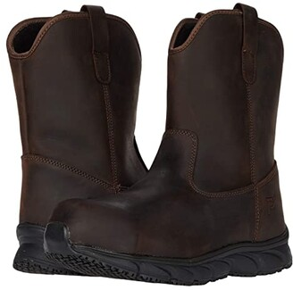 Propet Smith Worker (Brown Crazy Horse) Men's Boots
