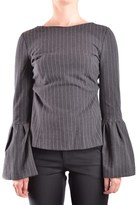 Pinko Women's Grey Viscose Jumper.