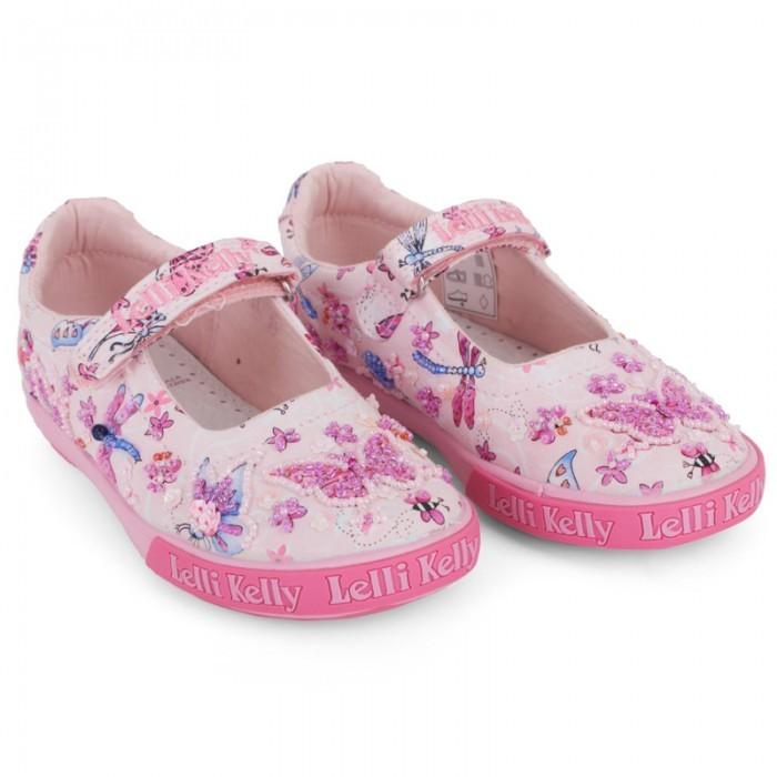 Lelli Kelly Kids Pink Butterfly Mary-Janes
