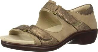 Aravon Duxbury Two Strap Wedge Sandal