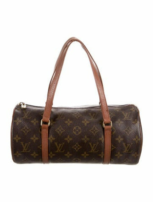 Louis Vuitton Vintage Monogram Papillon 30 Brown