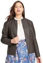 East Adeline By Dia&Co Plus Size East Adeline by Dia&Co Faux Leather Jacket
