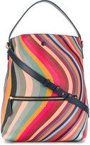 Paul Smith 'Swirl' print hobo bag