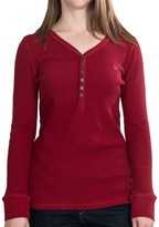 Woolrich Thermal Henley Shirt - Long Sleeve (For Women)