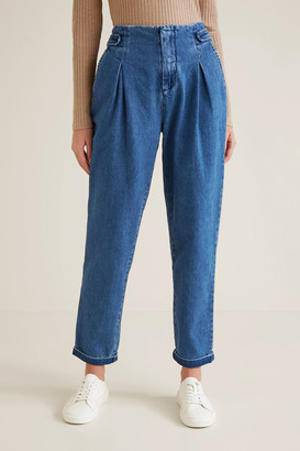 Seed Heritage Flat Front Tab Jean