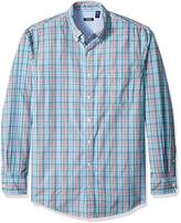 Izod Men's Big and Tall Saltwater Breeze Long Sleeve Shirt