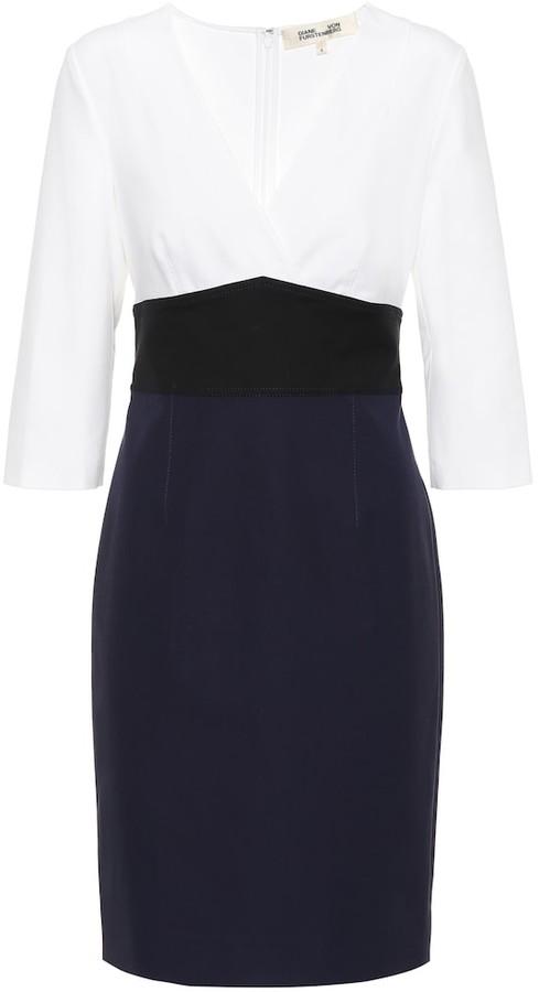 Diane von Furstenberg Lauren cotton-blend minidress