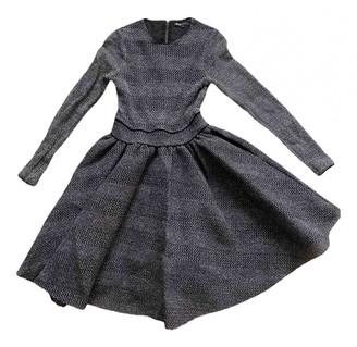 Maje Anthracite Polyester Dresses