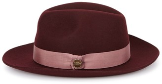 Christys London Christys' London Witan Bordeaux Wool Felt Fedora