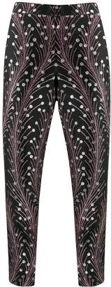 Marco De Vincenzo slim-fit jacquard trousers