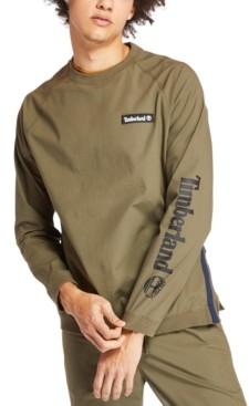 Timberland Men's Oversized Woven Crew Sweatshirt