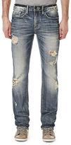 Buffalo David Bitton Six-X Distressed Slim-Fit Jeans
