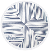 The Beach People Avalon Round Beach Towel