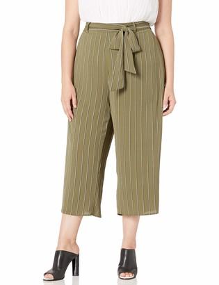 City Chic Women's Apparel Women's Plus Size Pant Flair