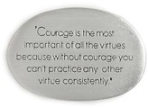 Dogeared Women's Legacy Courage Pocket Stone