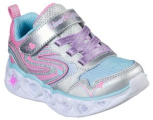 Skechers S Lights Heart Lights Love Spark Light-Up Sneaker - Kids'